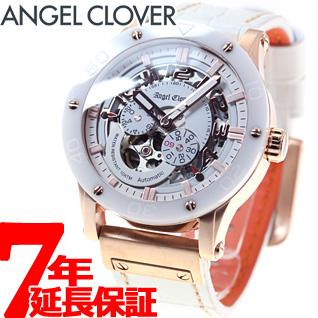 エンジェルクローバー Angel Clover 腕時計 メンズ 自動巻き エクスベンチャー EXVENTURE EVA43PWH-WH