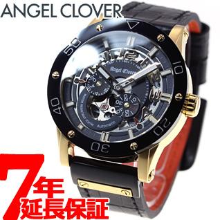 エンジェルクローバー Angel Clover 腕時計 メンズ 自動巻き エクスベンチャー EXVENTURE EVA43YBK-BK