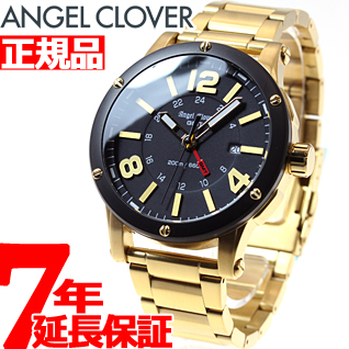 【お買い物マラソンは当店がお得♪本日20より!】エンジェルクローバー Angel Clover 腕時計 メンズ エクスベンチャー EXVENTURE EVG46YBK