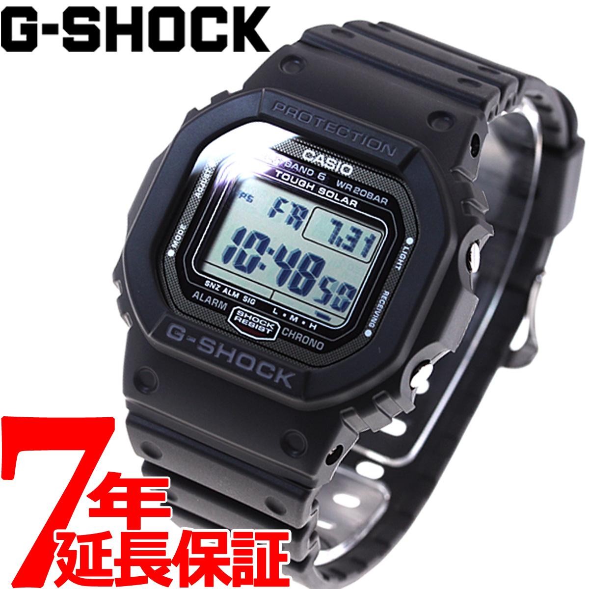 G-SHOCK 電波 ソーラー 電波時計 カシオ Gショック GW-5000-1JF CASIO G-SHOCK