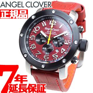【SHOP OF THE YEAR 2018 受賞】エンジェルクローバー Angel Clover 腕時計 メンズ エイトスター 8ght STAR クロノグラフ NES46SRE-LEATHER