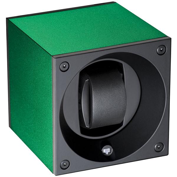 スイスキュービック SWISS KubiK ワインディングマシーン ウォッチワインダー 1本 アルミニュームコレクション グリーン SK01.AE007