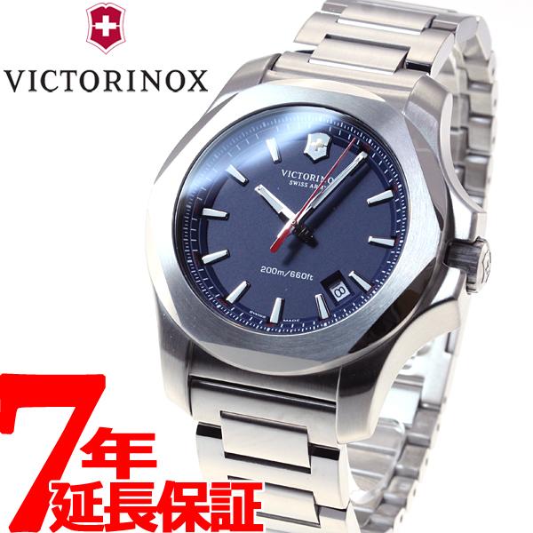 【お買い物マラソンは当店がお得♪本日20より!】ビクトリノックス VICTORINOX 腕時計 メンズ INOX STEEL イノックス スティール ヴィクトリノックス スイスアーミー 241724.1