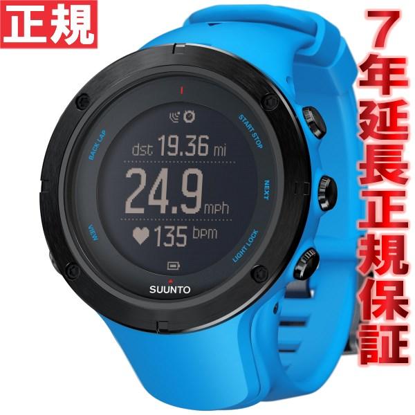 【お買い物マラソンは当店がお得♪本日20より!】スント アンビット3 ピーク サファイアブルー SUUNTO AMBIT3 PEAK SAPPHIRE BLUE GPSウォッチ Bluetooth搭載 腕時計 SS022306000