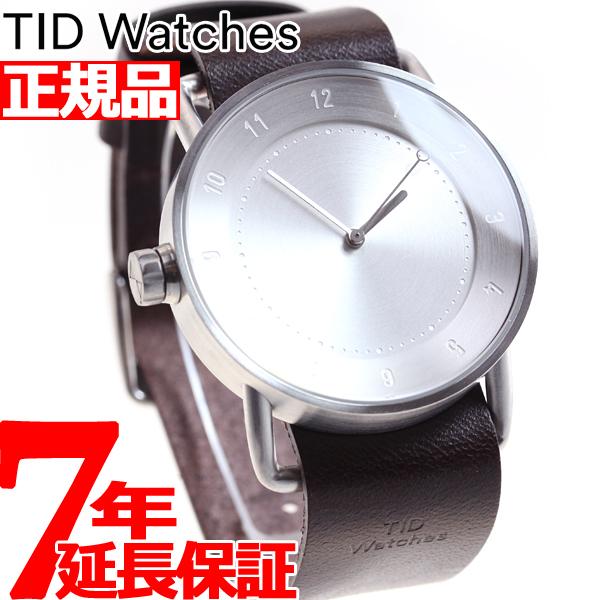 【お買い物マラソンは当店がお得♪本日20より!】ティッドウォッチズ TID Watches 腕時計 メンズ/レディース ティッドウォッチ No.2 コレクション TID02-SV/W