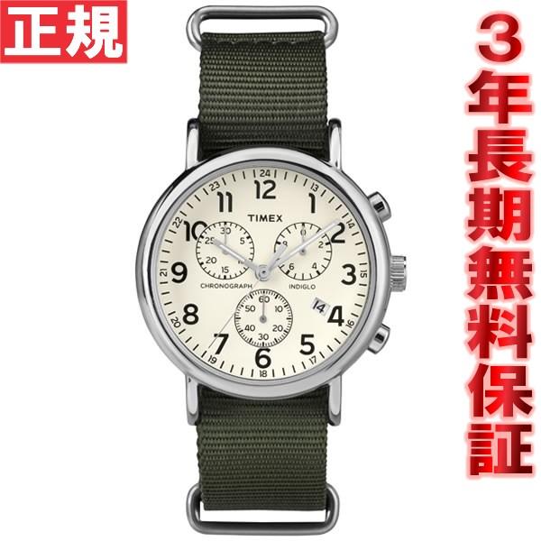 タイメックス TIMEX ウィークエンダー クロノ Weekender Chrono 腕時計 メンズ クロノグラフ TW2P71400
