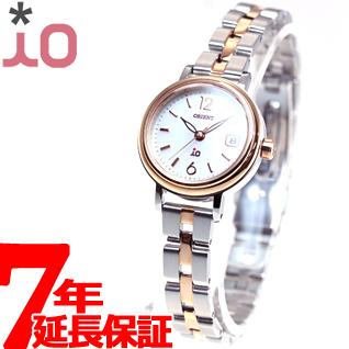 【SHOP OF THE YEAR 2018 受賞】オリエント イオ ORIENT iO ソーラー 腕時計 レディース ナチュラル&プレイン WI0021WG