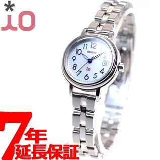 【SHOP OF THE YEAR 2018 受賞】オリエント イオ ORIENT iO ソーラー 腕時計 レディース ナチュラル&プレイン WI0031WG