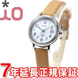オリエント イオ ORIENT iO ソーラー 腕時計 レディース ナチュラル&プレイン WI0051WG