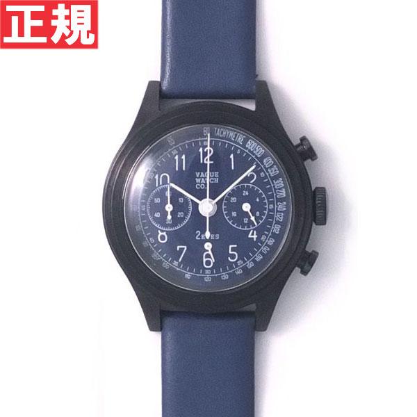 【お買い物マラソンは当店がお得♪本日20より!】ヴァーグウォッチ VAGUE WATCH Co. 腕時計 2EYES(ツーアイズ) クロノグラフ 2C-L-006