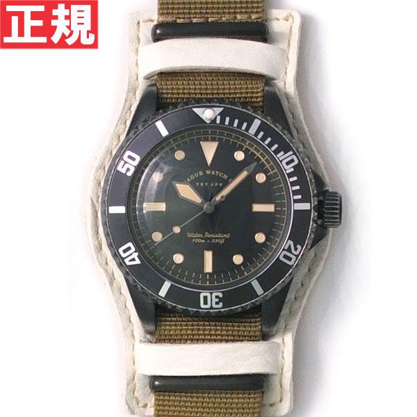 【お買い物マラソンは当店がお得♪本日20より!】ヴァーグウォッチ VAGUE WATCH Co. 腕時計 BLK SUB!+GUIDI BASE ホースレザーベルト BS-L-B003