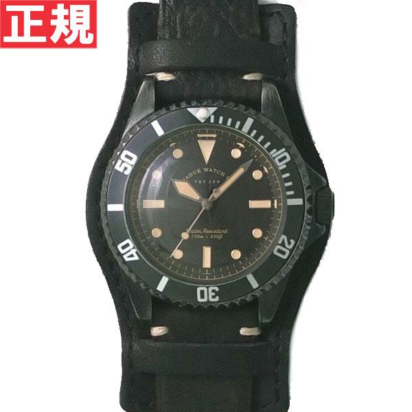 【お買い物マラソンは当店がお得♪本日20より!】ヴァーグウォッチ VAGUE WATCH Co. 腕時計 BLK SUB!+GUIDI HAND STITCH!+BASE ホースレザー ステッチベルト BS-L-HB001