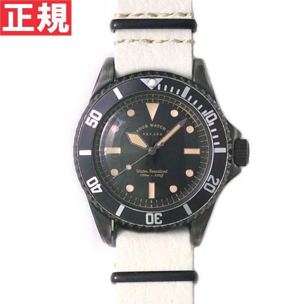 【お買い物マラソンは当店がお得♪本日20より!】ヴァーグウォッチ VAGUE WATCH Co. 腕時計 BLK SUB!+GUIDI NATO ホースレザーNATOベルト BS-L-N003