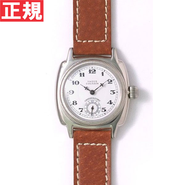 ヴァーグウォッチ VAGUE WATCH Co. 腕時計 COUSSIN(クッサン) スモールセコンド ピッグスキンレザー CO-L-001