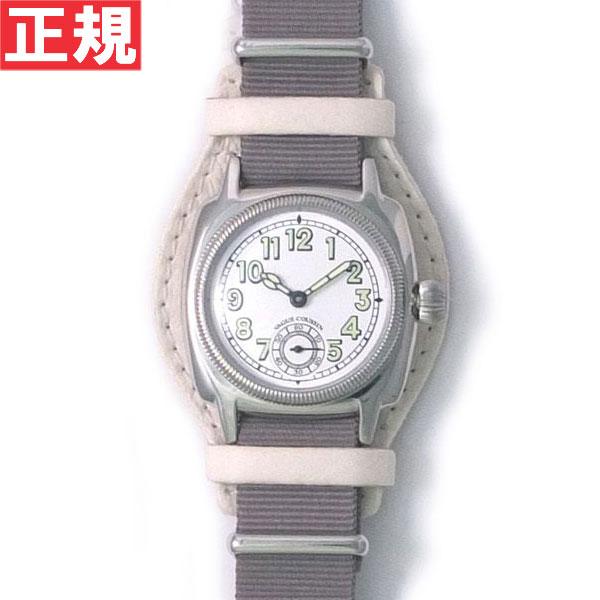 【お買い物マラソンは当店がお得♪本日20より!】ヴァーグウォッチ VAGUE WATCH Co. 腕時計 COUSSIN MIL メンズ クッサンミリタリー CO-L-007-03WT
