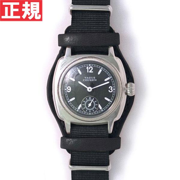【お買い物マラソンは当店がお得♪本日20より!】ヴァーグウォッチ VAGUE WATCH Co. 腕時計 COUSSIN MIL メンズ クッサンミリタリー CO-L-007-05BK