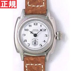 【お買い物マラソンは当店がお得♪本日20より!】ヴァーグウォッチ VAGUE WATCH Co. 腕時計 COUSSIN(クッサン) スモールセコンド ピッグスキンレザー CO-S-001