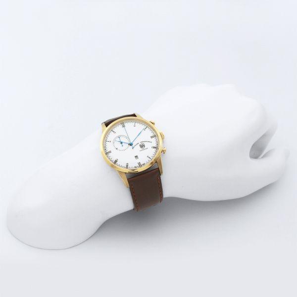 本日ポイント最大25倍!24日9時59分まで! DUFA ドゥッファ Mies Chrono 腕時計 メンズ ミース・クロノ DF-9007-04-O