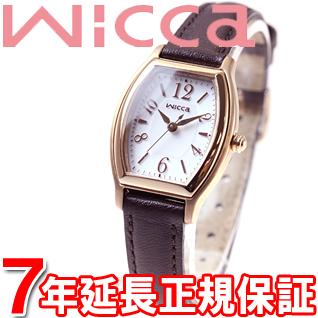 シチズン ウィッカ CITIZEN wicca ソーラー エコドライブ 有村架純 腕時計 レディース ソーラーテック スタンダード トノー KH8-721-12