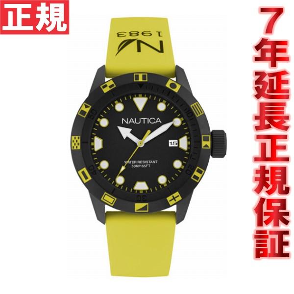 【お買い物マラソンは当店がお得♪本日20より!】ノーティカ NAUTICA 腕時計 メンズ NSR100 FLAG NAI10078G