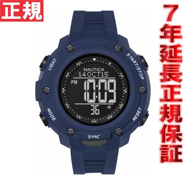 【お買い物マラソンは当店がお得♪本日20より!】ノーティカ NAUTICA 腕時計 メンズ NMX15 DIGITAL YACHTIMER NAI19524G