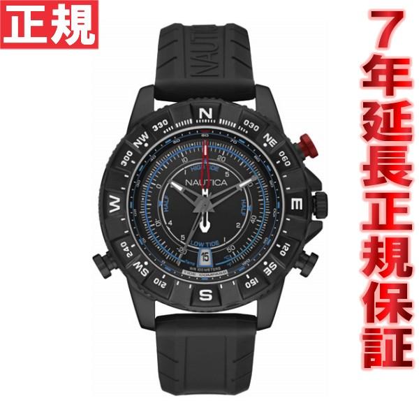 【お買い物マラソンは当店がお得♪本日20より!】ノーティカ NAUTICA 腕時計 メンズ NSR103 TIDE TEMP COMPASS NAI21001G