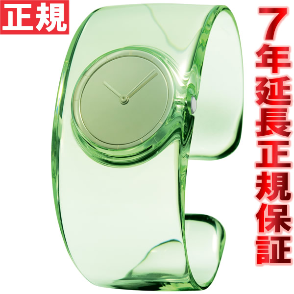 イッセイミヤケ ISSEY MIYAKE 腕時計 メンズ/レディース O オー 吉岡徳仁デザイン グリーン NY0W001