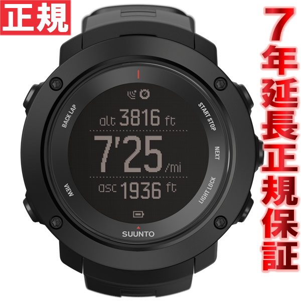 【今だけ!最大2000円OFFクーポン付!&店内ポイント最大47倍!25日23時59分まで】スント アンビット3 バーティカル ブラック SUUNTO AMBIT3 VERTICAL BLACK GPSウォッチ Bluetooth搭載 腕時計 SS021965000