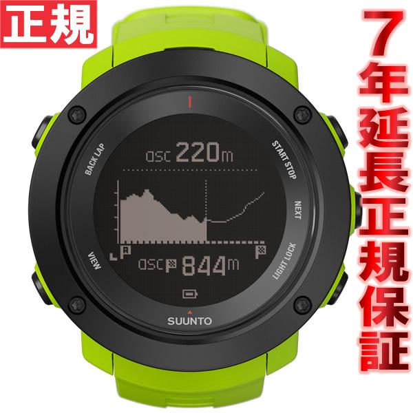 【お買い物マラソンは当店がお得♪本日20より!】スント アンビット3 バーティカル ライム SUUNTO AMBIT3 VERTICAL LIME GPSウォッチ Bluetooth搭載 腕時計 SS021971000