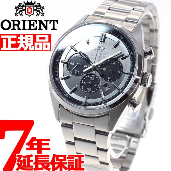 オリエント ネオセブンティーズ ORIENT Neo70's ソーラー 腕時計 メンズ クロノグラフ WV0011TX