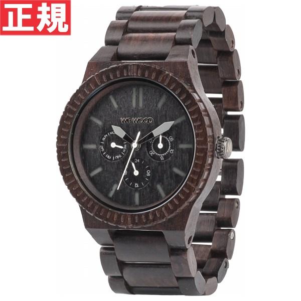 WEWOOD ウィーウッド 腕時計 木製 マルチファンクション KAPPA BLACK 9818029