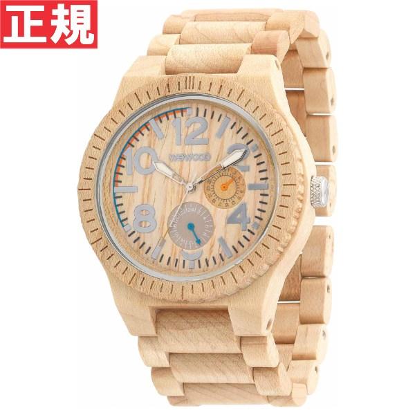 【お買い物マラソンは当店がお得♪本日20より!】WEWOOD ウィーウッド 腕時計 木製 マルチファンクション KARDO BEIGE 9818039