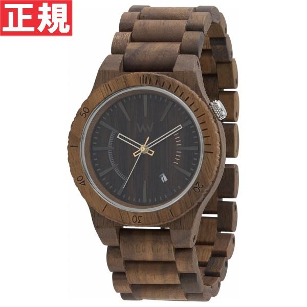 【お買い物マラソンは当店がお得♪本日20より!】WEWOOD ウィーウッド 腕時計 木製 ASSUNT NUT カレンダー 9818047