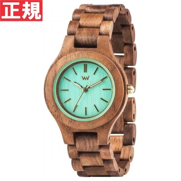 【お買い物マラソンは当店がお得♪本日20より!】WEWOOD ウィーウッド 腕時計 木製 ANTEA NUT MINT 9818079