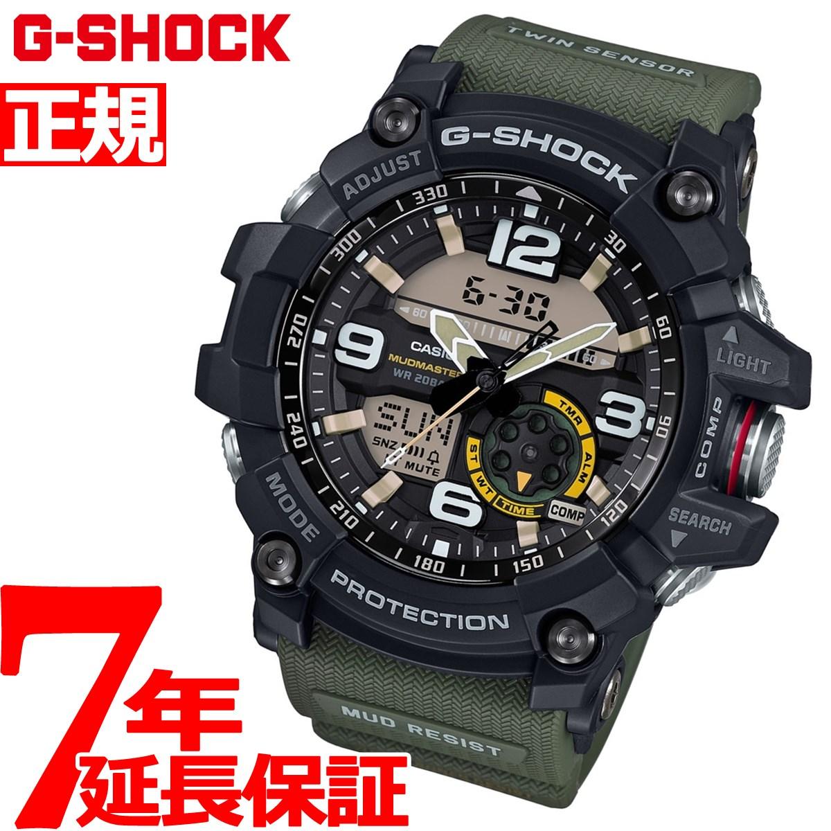 G-SHOCK MUDMASTER カシオ Gショック マッドマスター CASIO 腕時計 メンズ アナデジ GG-1000-1A3JF