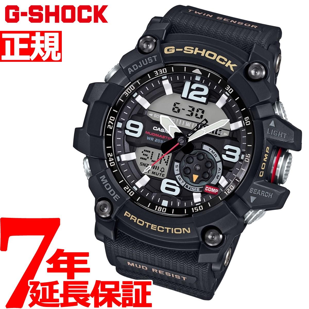 【お買い物マラソンは当店がお得♪本日20より!】G-SHOCK MUDMASTER カシオ Gショック マッドマスター CASIO 腕時計 メンズ アナデジ GG-1000-1AJF