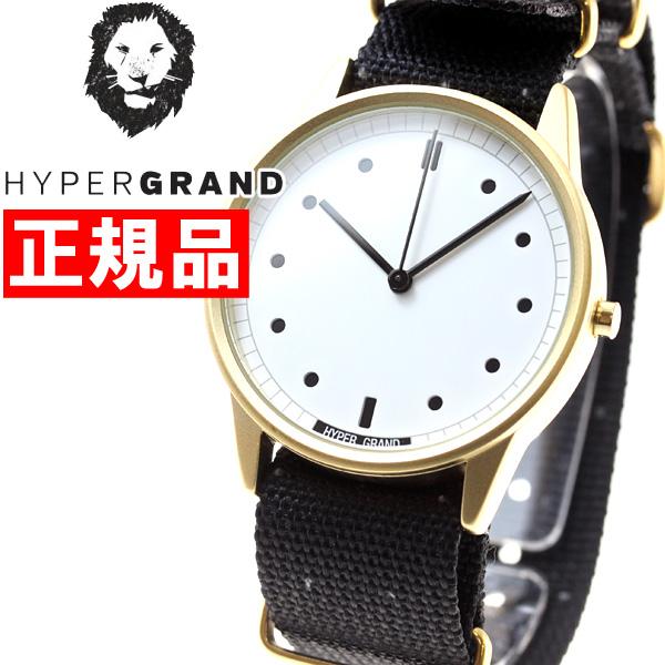 【お買い物マラソンは当店がお得♪本日20より!】ハイパーグランド HYPERGRAND 腕時計 メンズ レディース ゼロワンナトー 01NATO NWH2BIGY