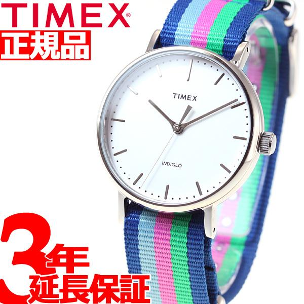 【お買い物マラソンは当店がお得♪本日20より!】タイメックス TIMEX 腕時計 レディース ウィークエンダー フェアフィールド Weekender Fairfield 37mm TW2P91700