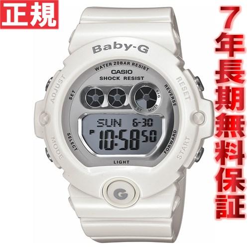 BABY-G カシオ ベビーG 時計 レディース 腕時計 ホワイト 白 BG-6900-7JF
