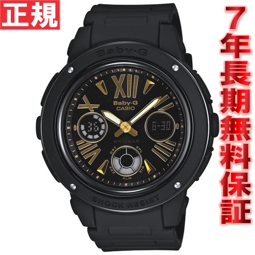 BABY-G カシオ ベビーG 時計 レディース 腕時計 ブラック アナデジ BGA-153-1BJF