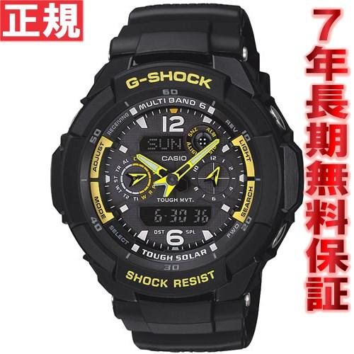 G-SHOCK 電波 ソーラー 電波時計 カシオ Gショック スカイコックピット 電波腕時計 メンズ G-SHOCK SKY COCKPIT GW-3500B-1AJF【送料無料】
