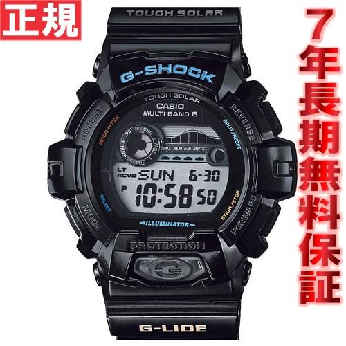 G-SHOCK 電波 ソーラー 電波時計 G-LIDE カシオ Gショック Gライド CASIO 腕時計 メンズ 電波時計 タフソーラー GWX-8900-1JF
