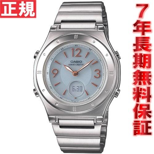 カシオ ソーラー 電波時計 レディース 腕時計 CASIO wave ceptor LWA-M141D-7AJF