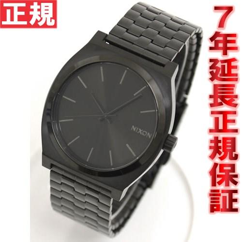 ニクソン NIXON タイムテラー TIME TELLER 腕時計 メンズ オールブラック NA045001-00