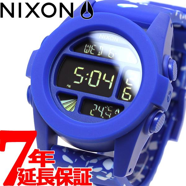 【お買い物マラソンは当店がお得♪本日20より!】ニクソン NIXON ユニット UNIT 腕時計 メンズ コバルトスポックル NA1972303-00