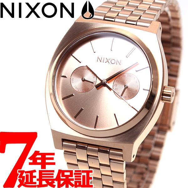 【お買い物マラソンは当店がお得♪本日20より!】ニクソン NIXON タイムテラーデラックス TIME TELLER DELUXE 腕時計 メンズ/レディース オールローズゴールド NA922897-00