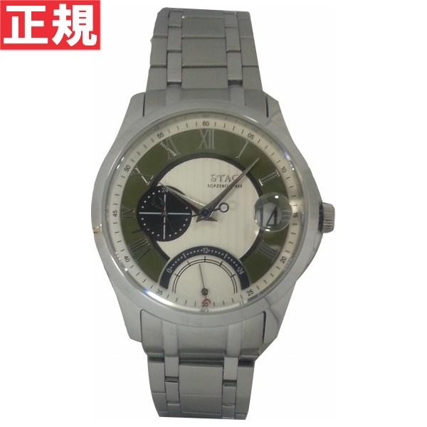 【SHOP OF THE YEAR 2018 受賞】STAG スタッグ 腕時計 メンズ SGPZEROTHREE GMT 日本製 クォーツ STG002S1