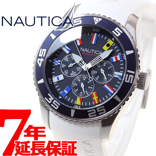 【お買い物マラソンは当店がお得♪本日20より!】ノーティカ NAUTICA 腕時計 メンズ NST07 フラッグ A12629G