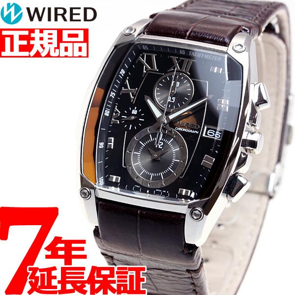 SEIKO セイコー ワイアード リフレクション 腕時計 クロノグラフ メンズ SEIKO WIRED REFLECTION AGAV039