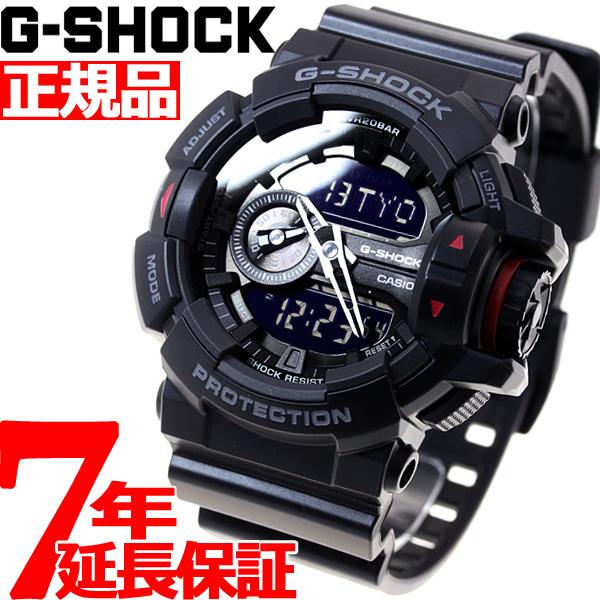 ニールがお得!今ならポイント最大37倍!10日23時59分まで! G-SHOCK 腕時計 メンズ アナデジ GA-400-1BJF